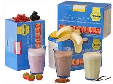 Cambridge dieet shakes