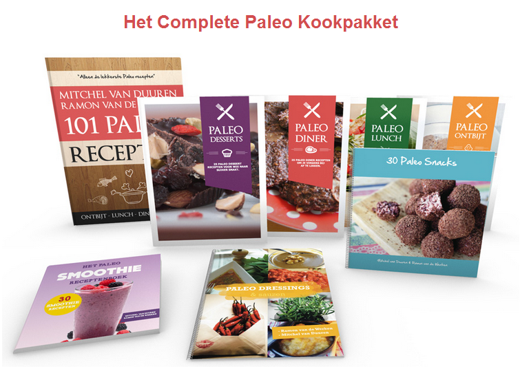 Het complete paleo kookpallet
