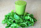 groene smoothie met spinazie