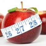 Appels eten en afvallen