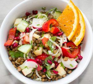 veganistische maaltijd